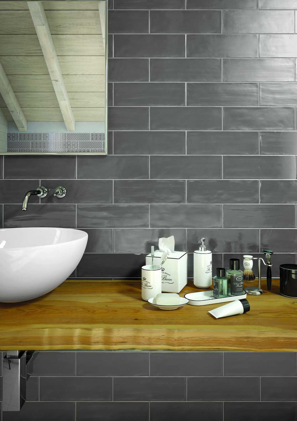 Brick Glossy Ceramic Tiles Ragno 6417