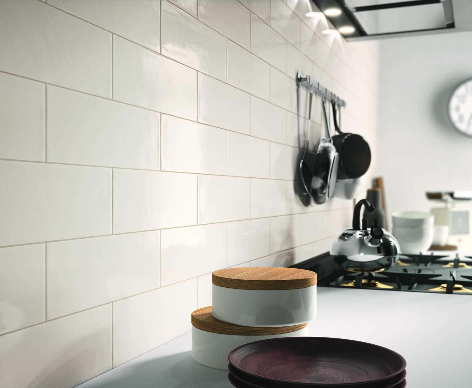 Brick Glossy Collection: Kitchen and bathroom wall tiles | Ragno