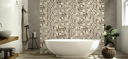 Flex Ragno: tiles