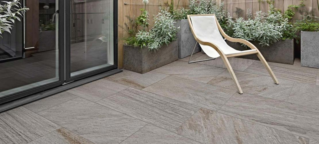 Mm Thickness Porcelain Stoneware For Exteriors Ragno - How thick should porcelain floor tile be