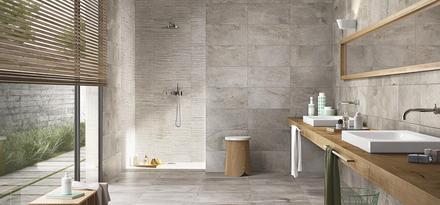 Stone Effect Bathroom Ragno