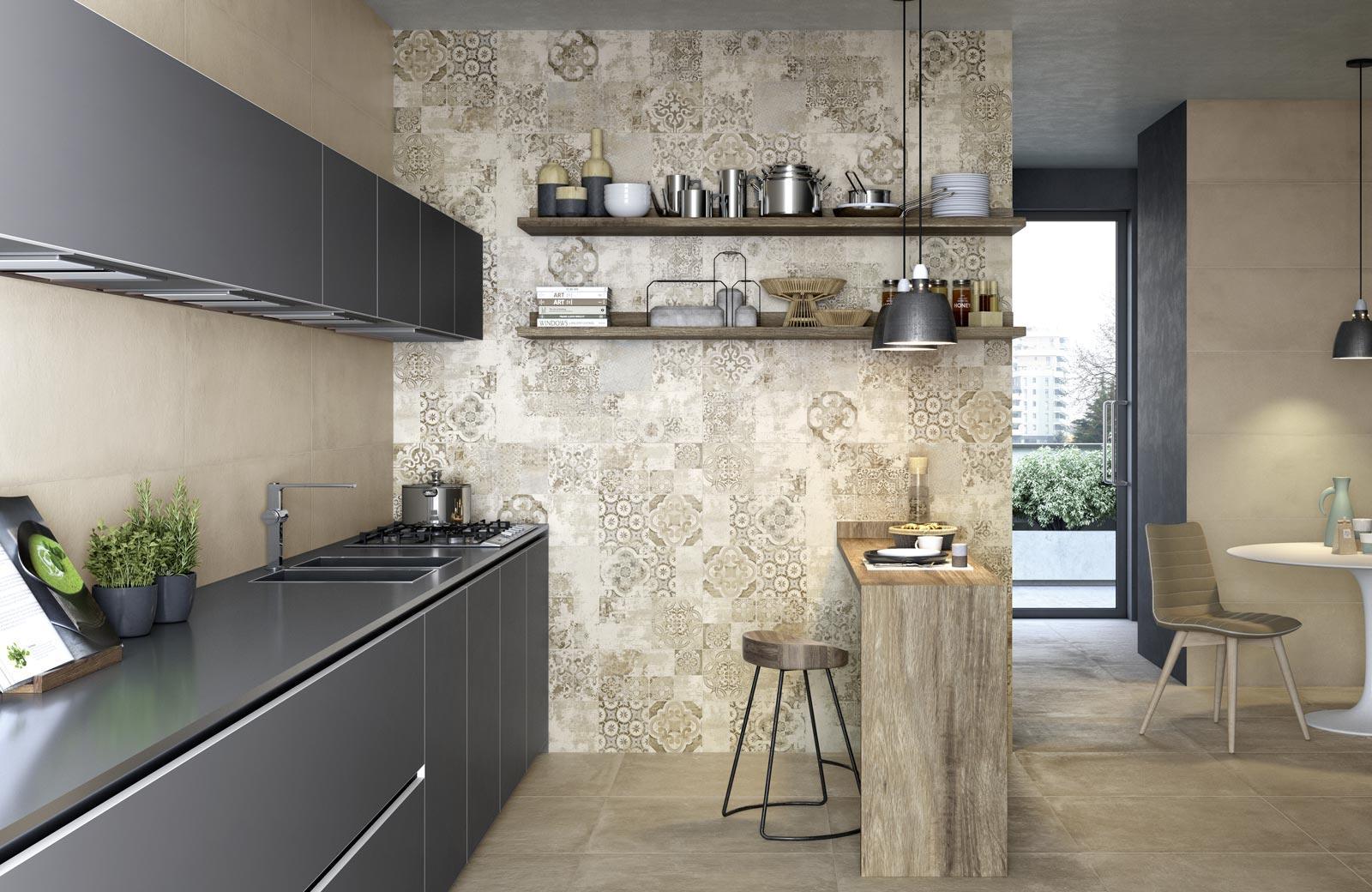 Terracruda collection concrete look tiles ragno