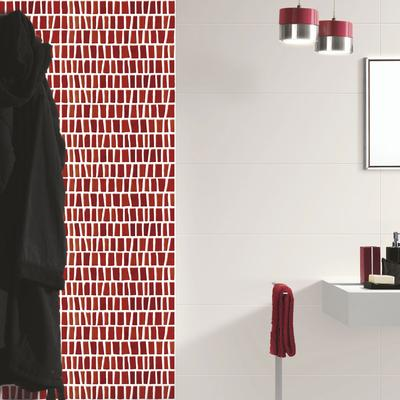 Brio - coloured mosaic wall tiles for bathrooms