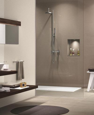 Crystal Mosaic - glass mosaic for wall covering bathroom