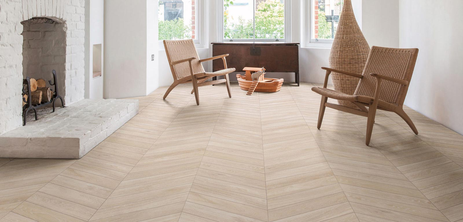 Woodchoice The Wood Effect Stoneware That Recalls Parquet Of Bygone Days