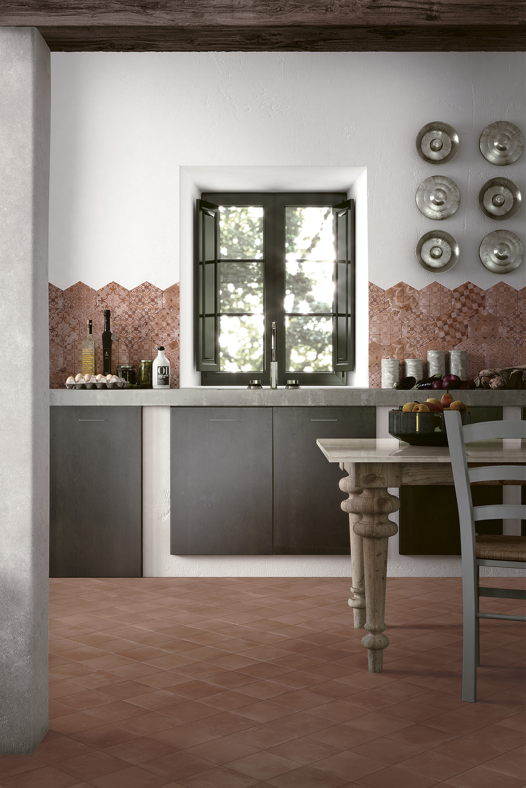 Epoca, Terracotta Effect for Kitchen | Ragno