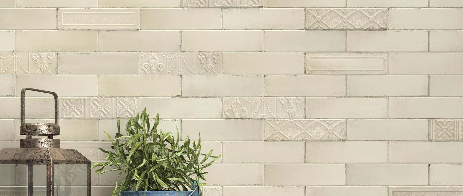 Eden & Calce: Brick Effect Tile | Ragno