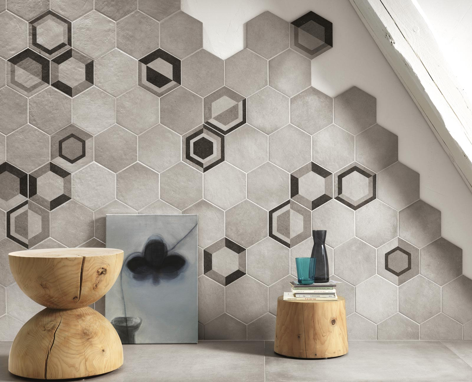 Hexagon Tiles For Home Decoration Ragno