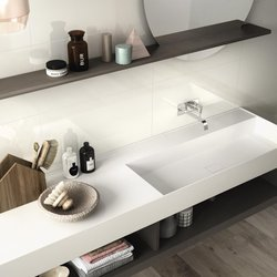 White Bathroom: Total White Perfection