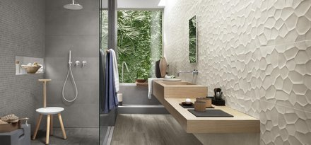 Terracruda, Concrete Effect Wall Tiles