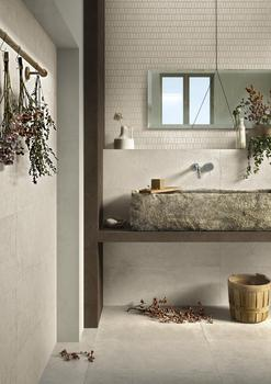 Daring use of colour, tactile exploration, homage to tradition: the Ragno bathroom