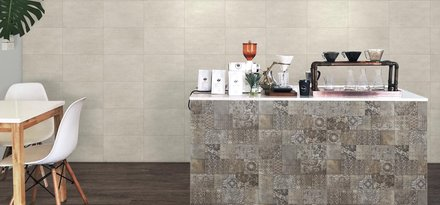 Metal becomes ceramic tile: the Brass collection by Ragno