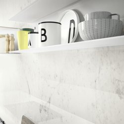 Total White Look: White Modern Kitchen
