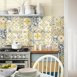 Candy, Colorful Majolica for Kitchen and Bathroom