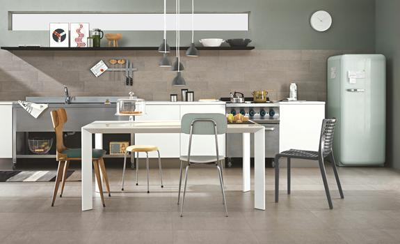 The new Ragno large size floor tiles
