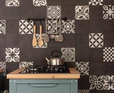 Reinventing tradition in the kitchen: using stoneware cement tiles to design contemporary spaces