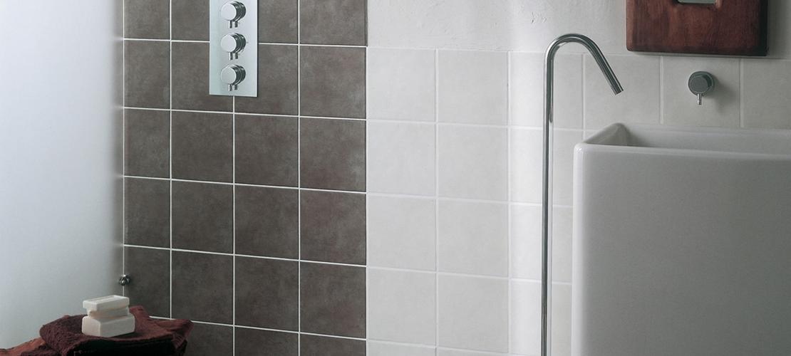 Minimal Ceramic Tiles For Bathromm Covering Ragno