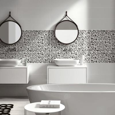 Prestige - white-body wall tiles for bathrooms