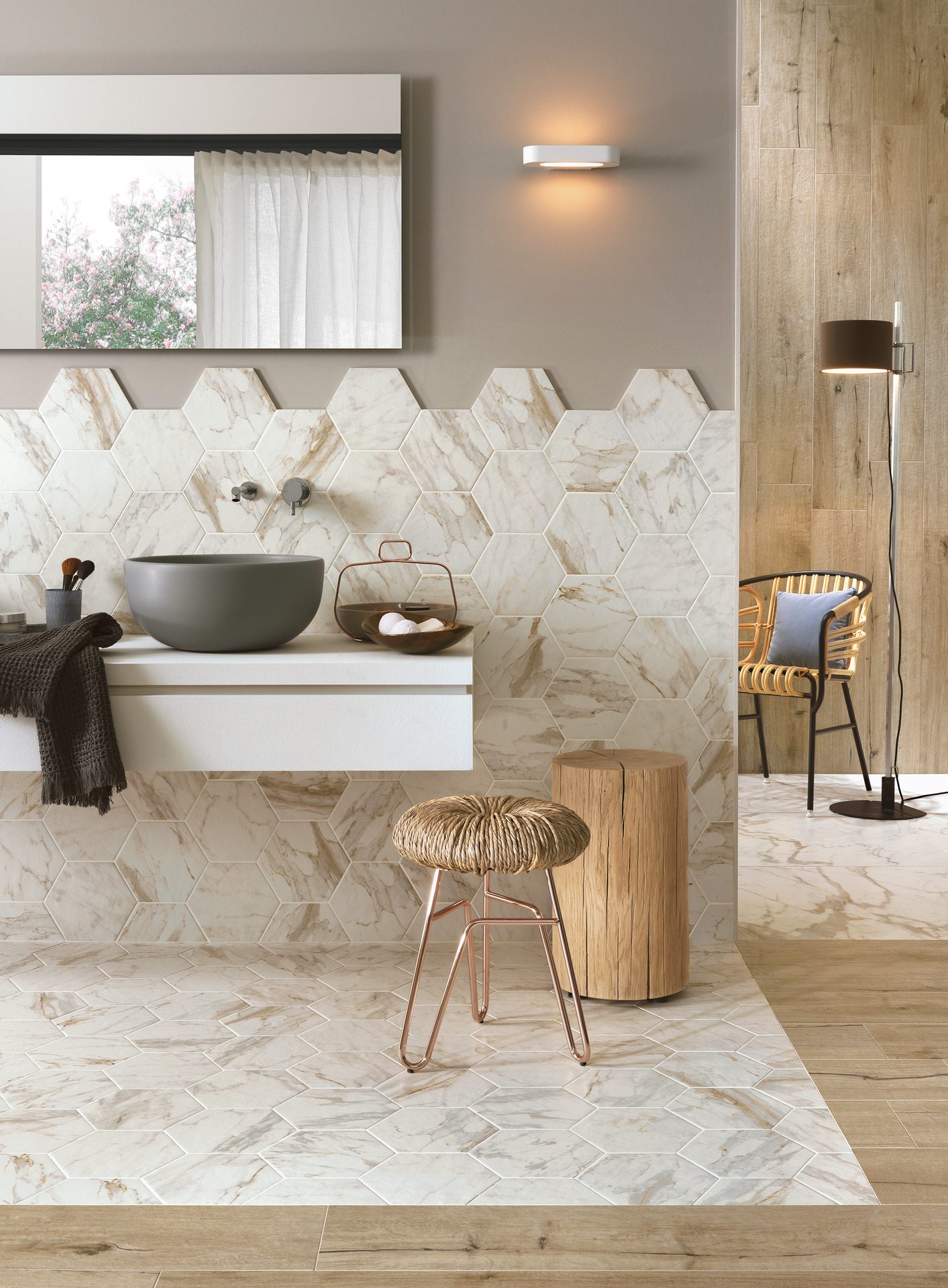 Bistrot collection fine stone and marble effect stoneware ragno bistrot ceramic tiles ragno7140 doublecrazyfo Choice Image