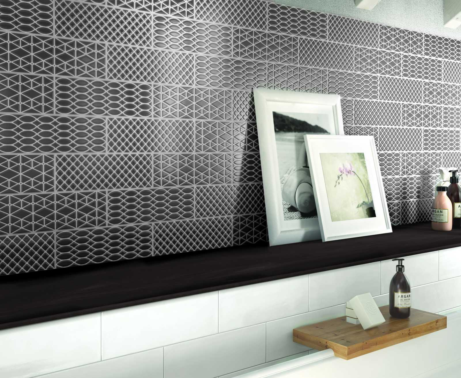 brick glossy collection kitchen and bathroom wall tiles ragno