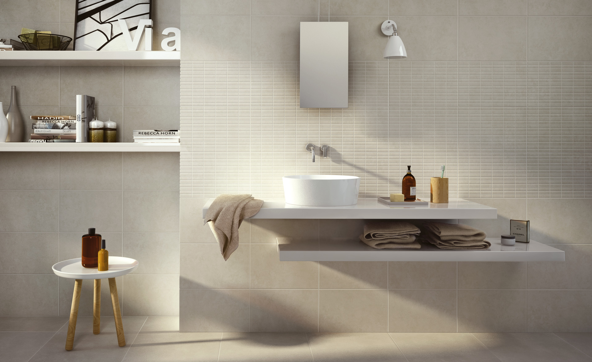 Casablanca Collection: kitchen and bathroom tiles  Ragno