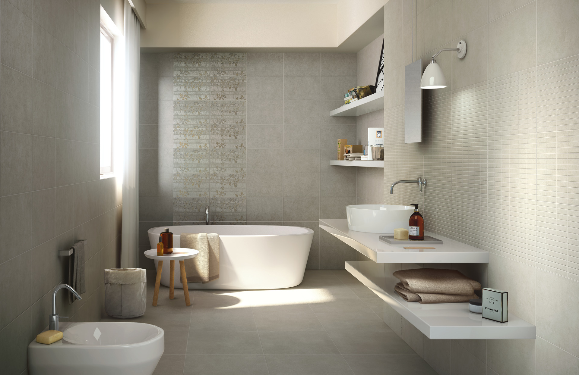 Casablanca collection kitchen and bathroom tiles ragno for Design bagno