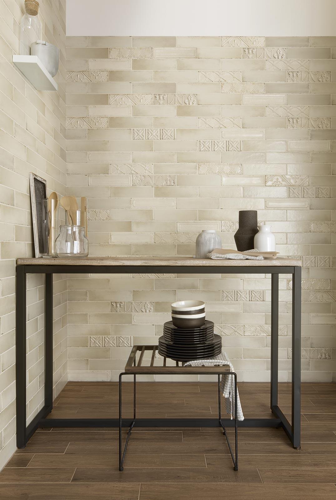 Eden collection majolica effect tiles ragno - Imitacion a ladrillo ...