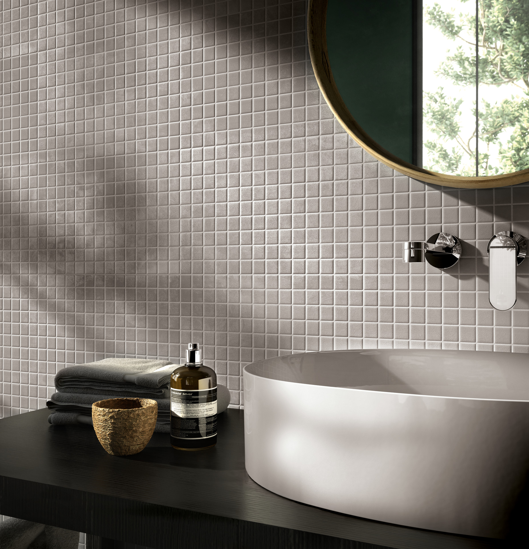 Feel Collection: Matt bathroom wall tiles | Ragno