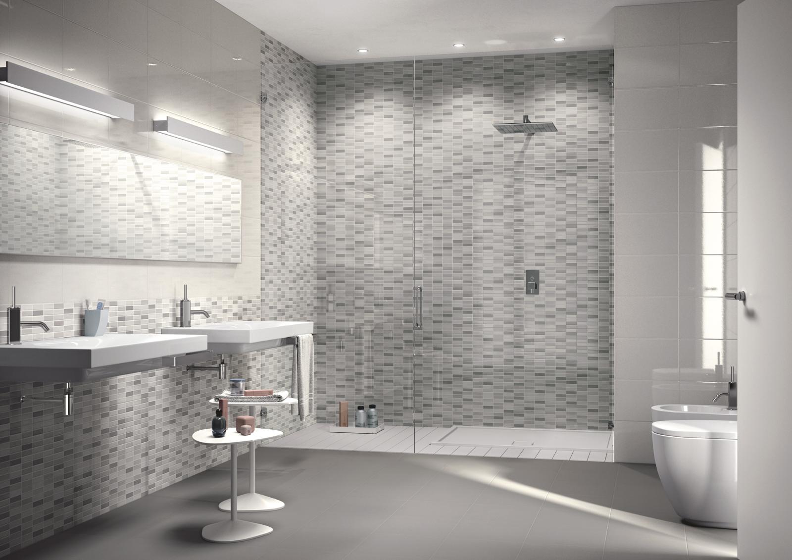 Piastrelle effetto pietra per bagno. interesting with piastrelle