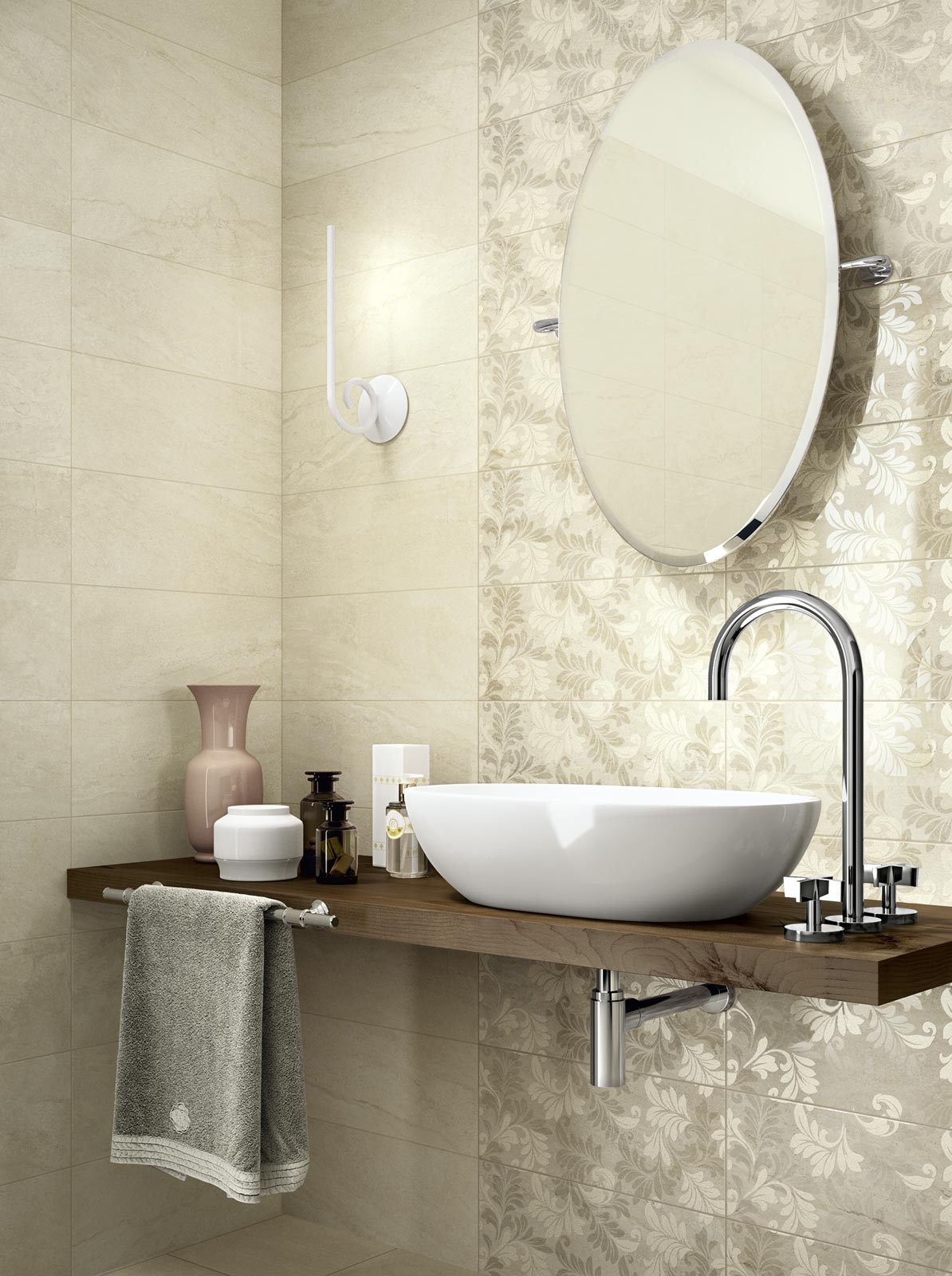 Grace Collection: Ceramic tiles for your bathroom | Ragno