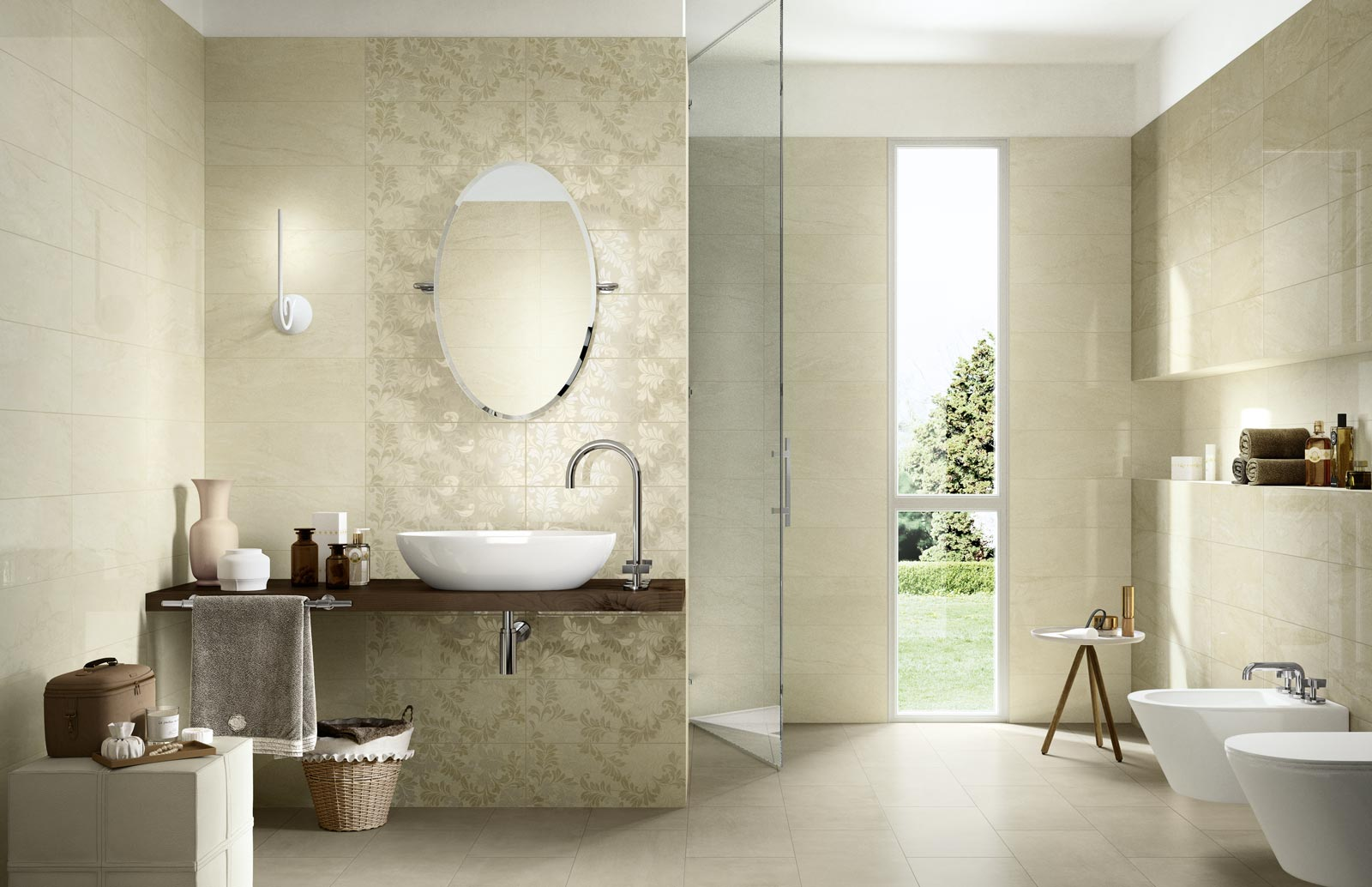Grace Collection Ceramic Tiles For Your Bathroom
