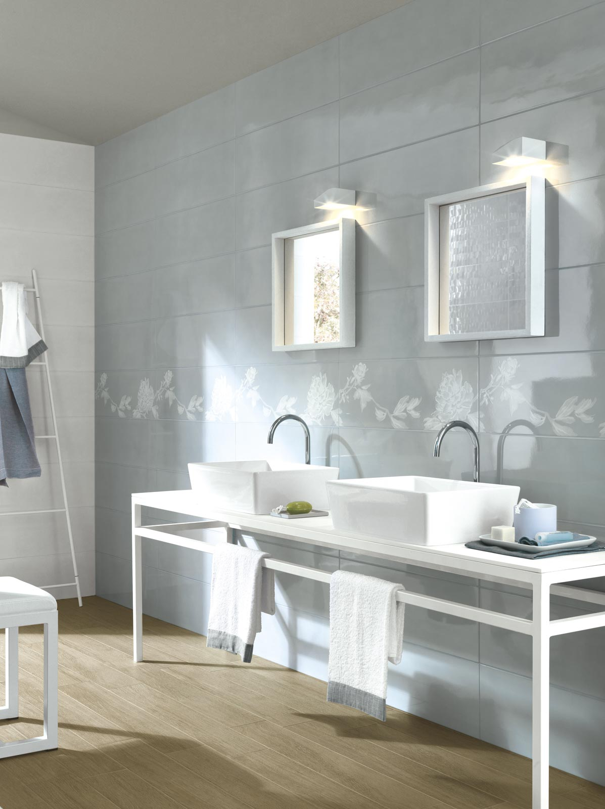 Handmade collection gloss effect bathroom walls ragno handmade ceramic tiles ragno4931 dailygadgetfo Gallery
