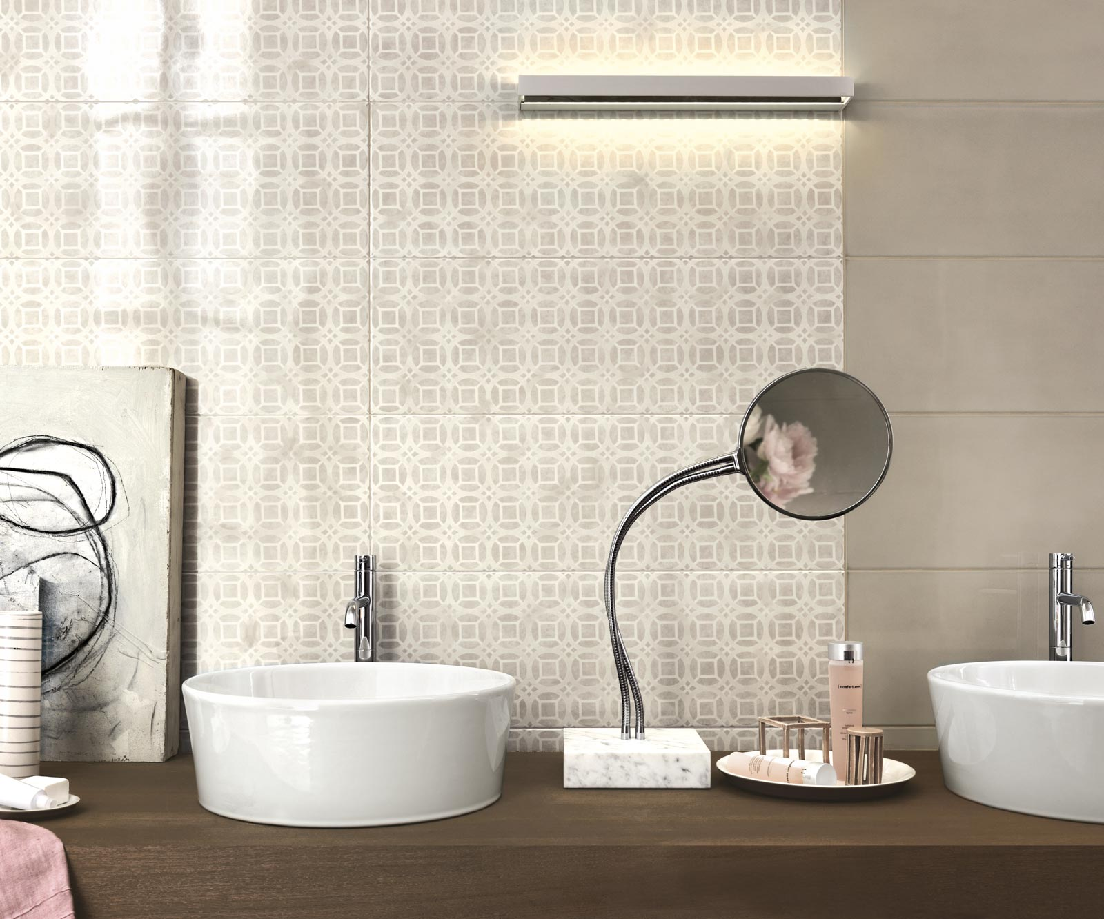 Handmade collection gloss effect bathroom walls ragno handmade ceramic tiles ragno4943 dailygadgetfo Gallery