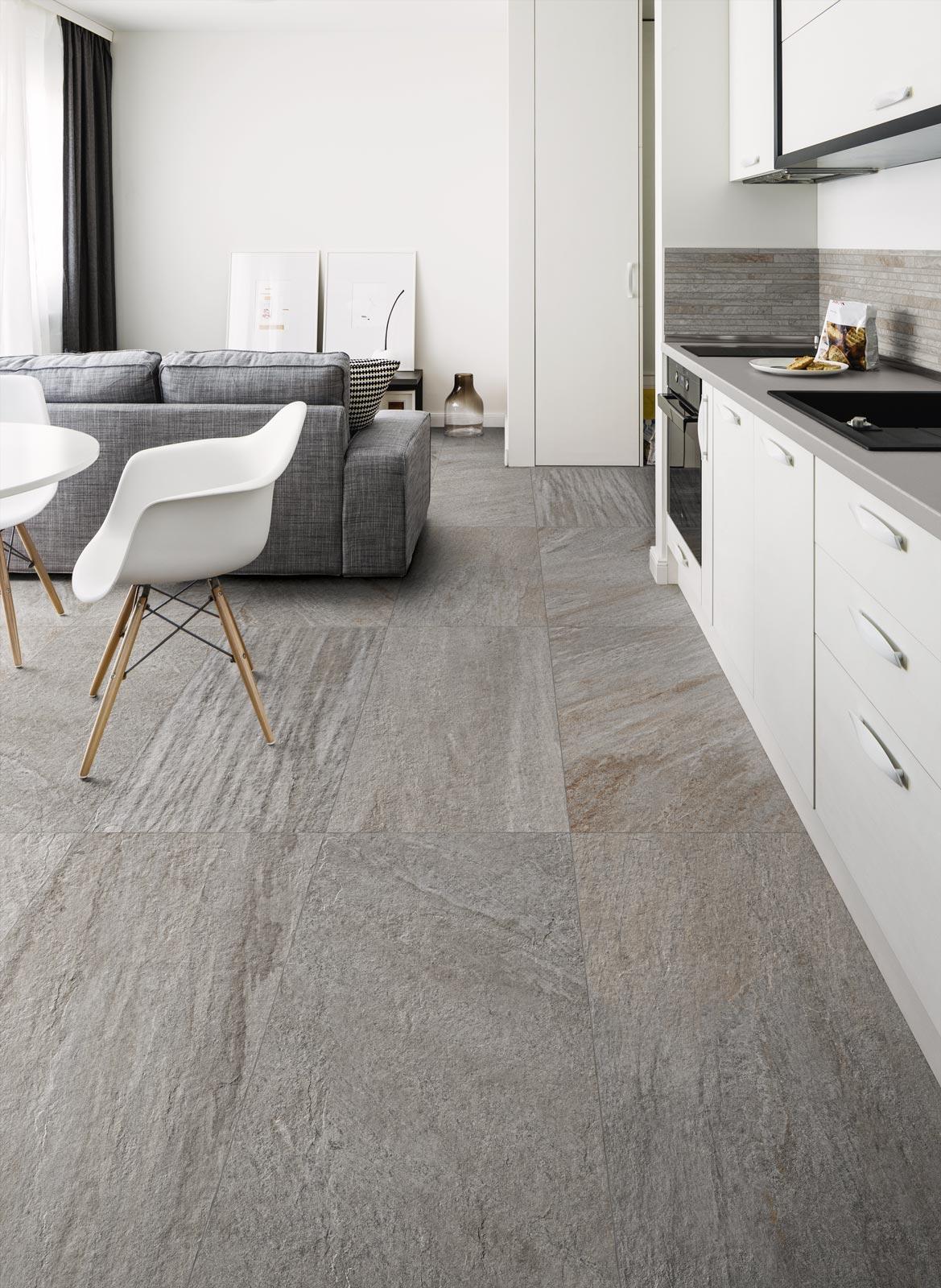 realstone quarzite collection stone effect stoneware ragno. Black Bedroom Furniture Sets. Home Design Ideas