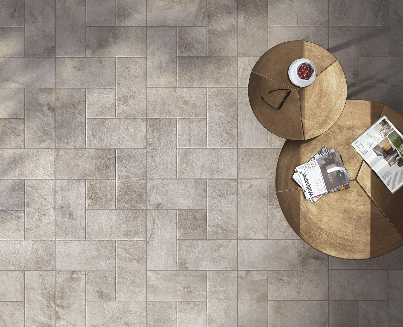 Stoneway barge antica collection outdoor tiles ragno for Ragno stoneway