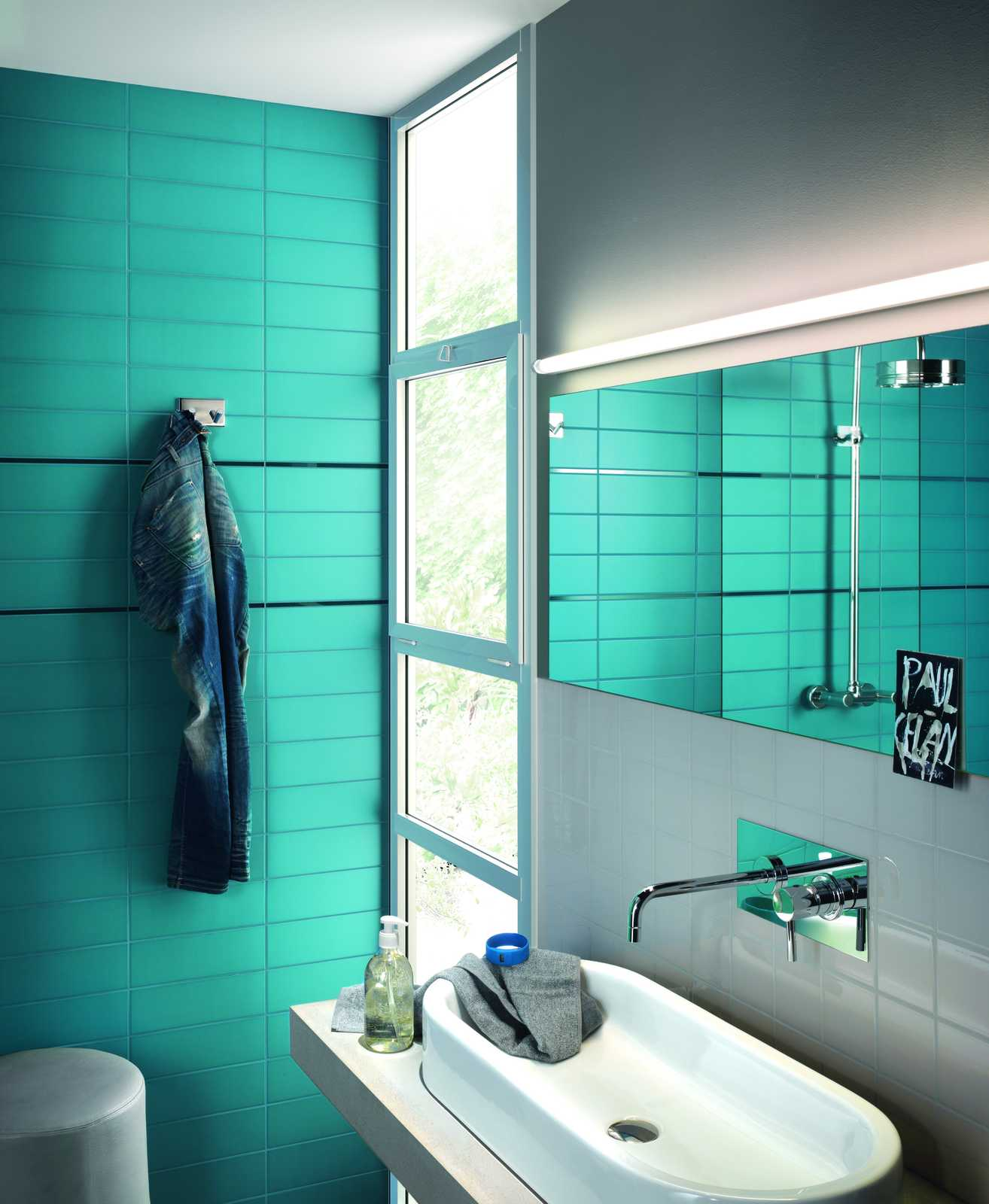 Unitech collection ceramic tiles pure colour ragno - Piastrelle 10x10 bagno ...