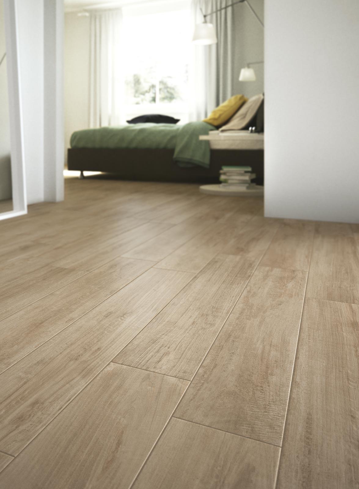 Woodcomfort Collection Wood Look Stoneware Floor Tiles