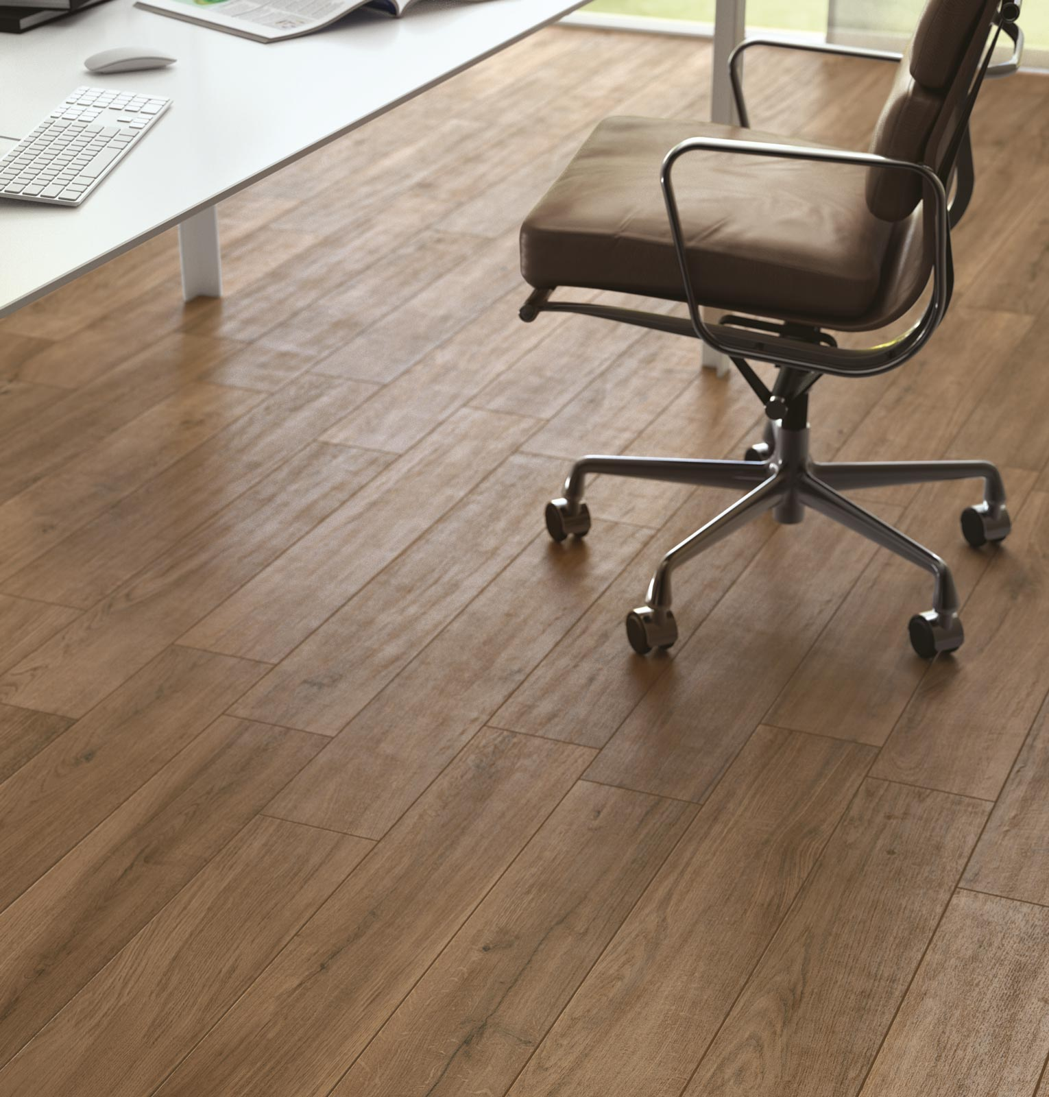 Woodpassion wood effect porcelain stoneware ragno for Carrelage 30x60
