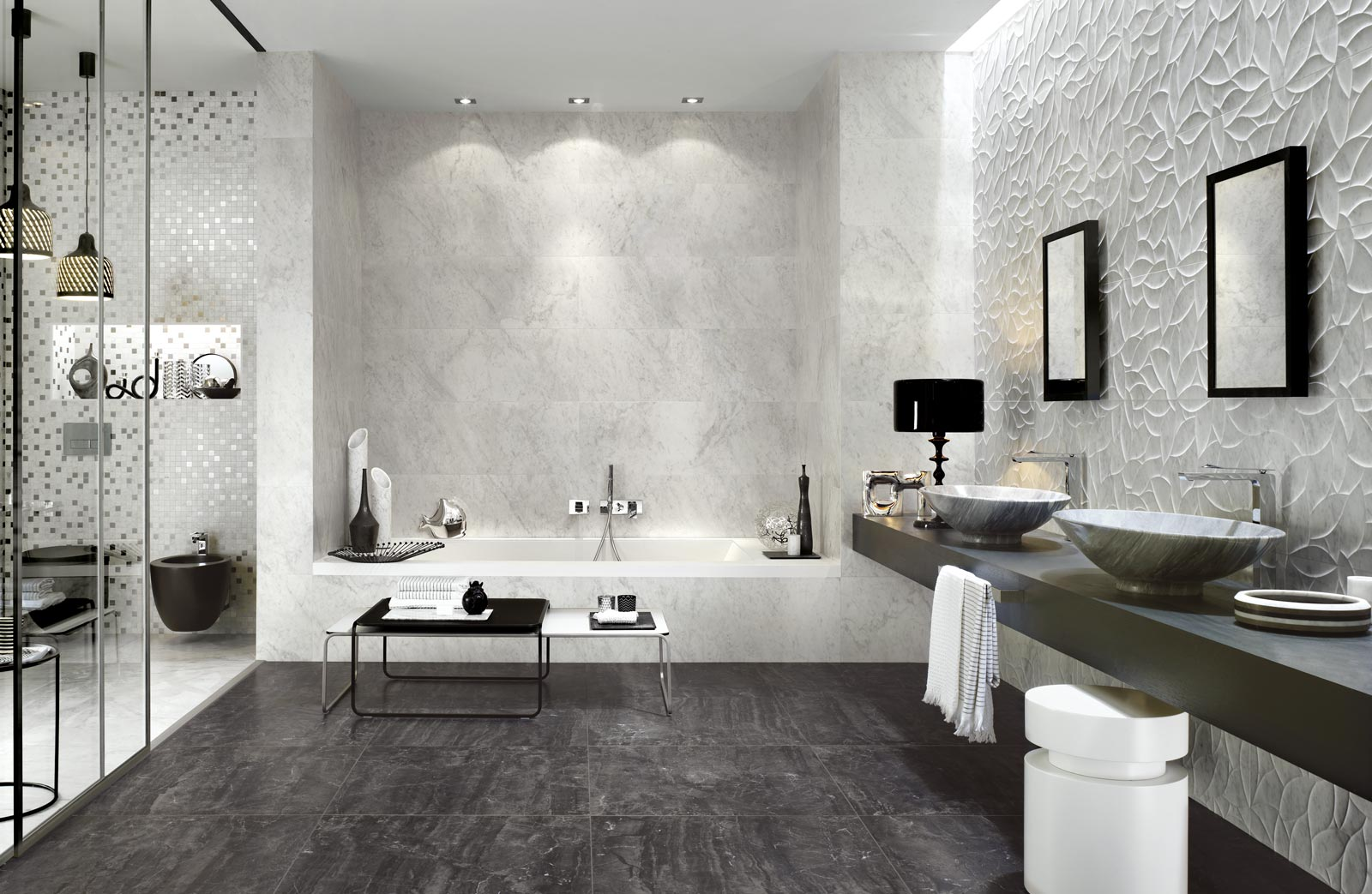 Bistrot wall collection wall tiles for bathrooms ragno for Gres porcellanato carrelage