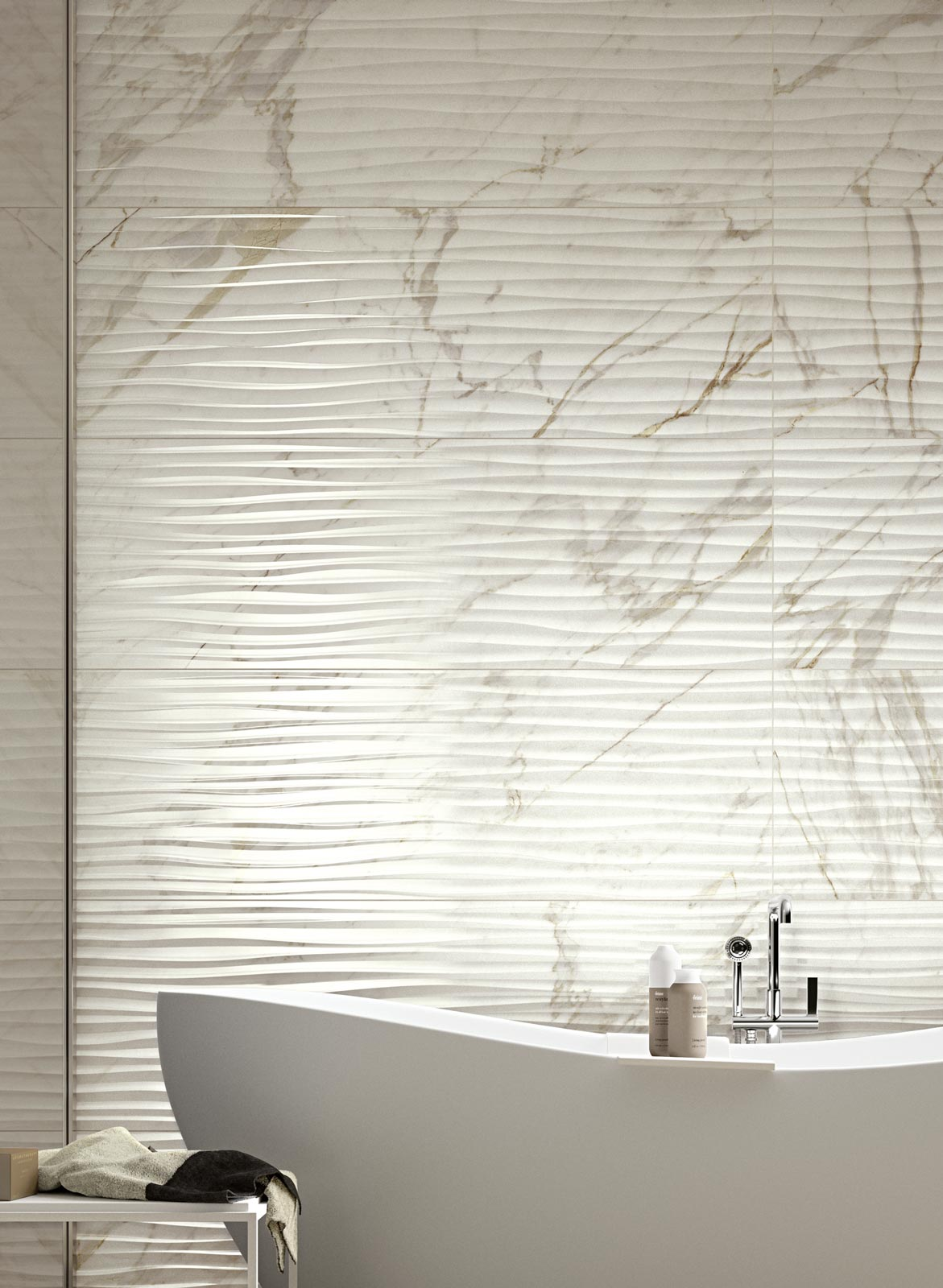 Bistrot wall collection wall tiles for bathrooms ragno for Carrelage marazzi