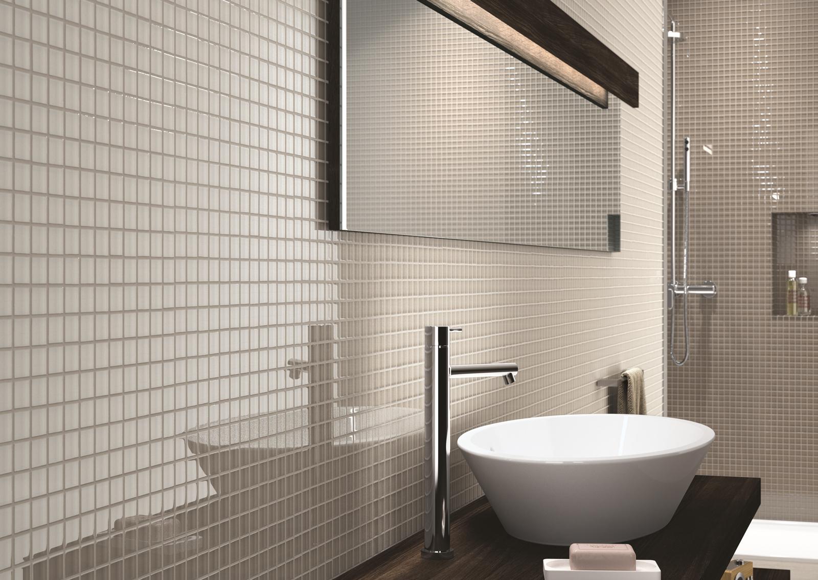 Foto mosaico bagno di manuela occhetti 573828 habitissimo for Mosaico vetro bagno