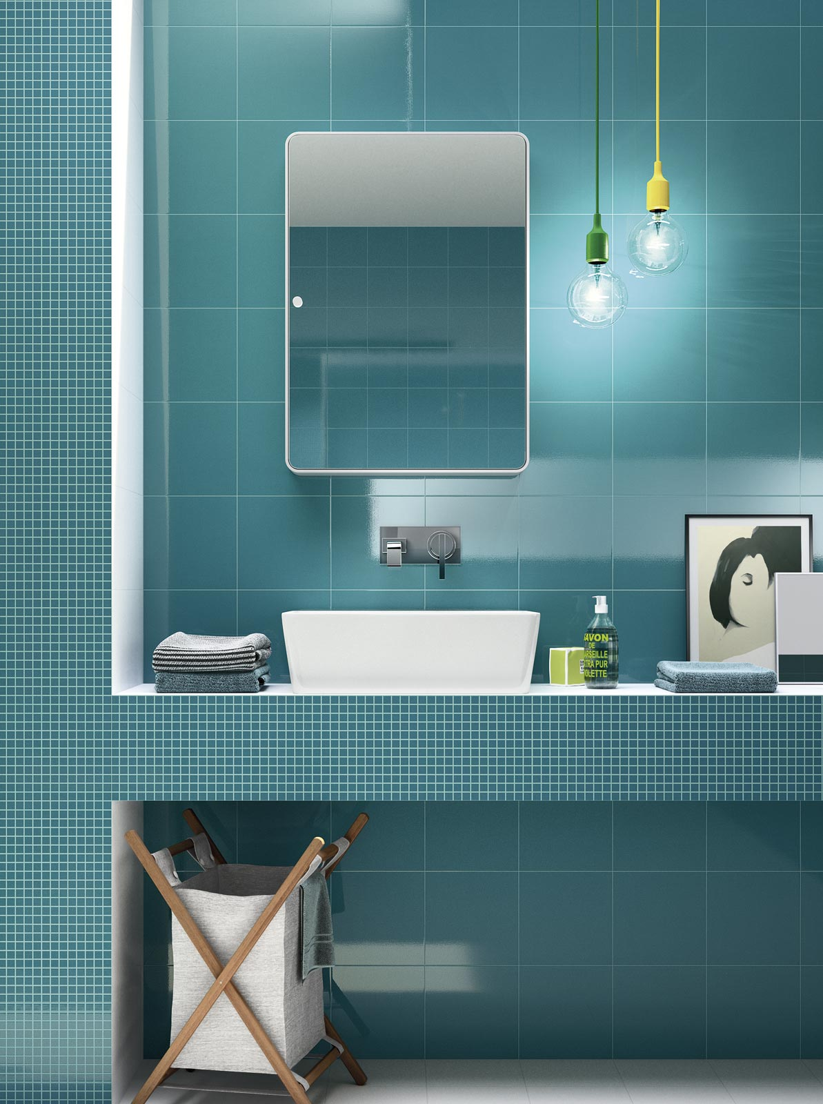 Movida - wall tiles for bathroom and kitchen | Ragno