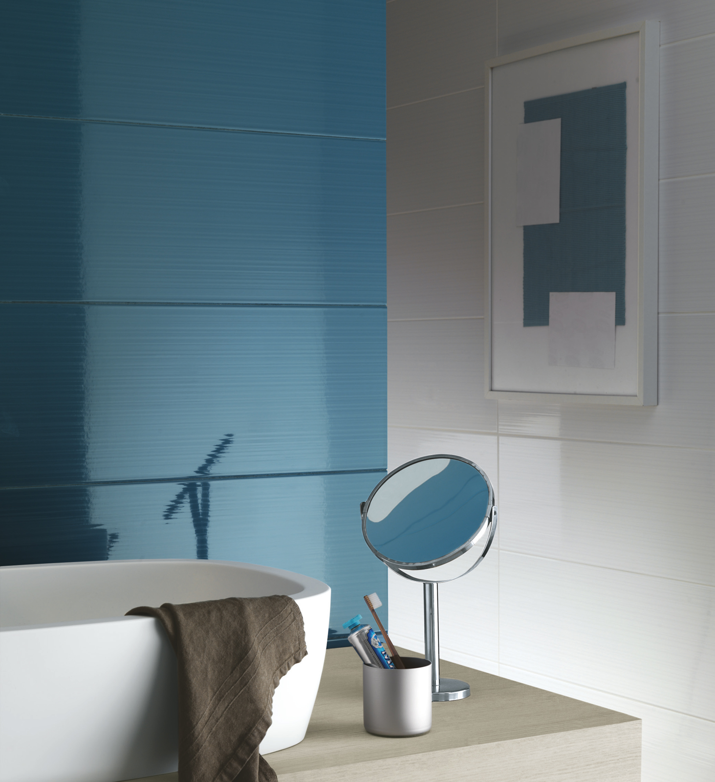 Smart Collection: Coloured tiles for the bathroom | Ragno
