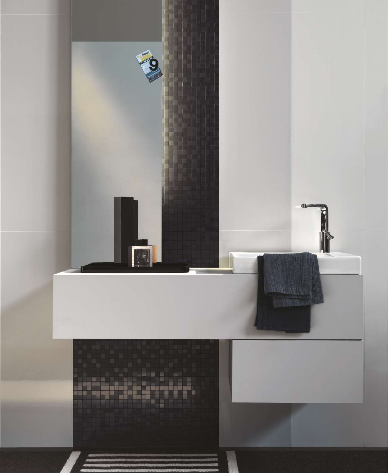 Beautiful Still Collection Glossy Bathroom Tiles  Ragno